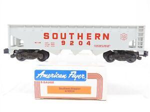 S Gauge American Flyer Lionel 4-9204 Southern Railway 3-Bay Open Hopper #9204