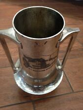 Vintage 1927 Silver Plate New Jersey Poultry Exposition Vineland Trophy Cup RARE