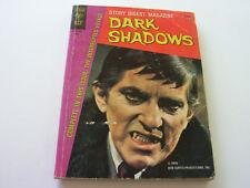 """Dark Shadows - Story Digest Magazine #1 1970 """"The Interrupted Voyage"""""""