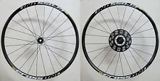 "Mavic Crossone Disco Bicicleta Carreras 29"" negro 6-agujero 15mm-QR 2150gramm"