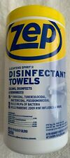 Zep Cleanems Spirit Ii Disinfectant Towels