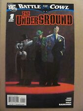 The Underground #1 Battle for the Cowl 2009 One Shot 9.6 Near Mint+ Batman