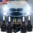 For BMW 323i 328i 335i 340i xDrive -6x 6000K white LED Headlight + Fog Lamp Bulb