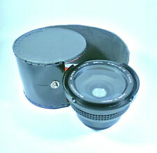 Sunagor Super Wider Semi Fish-Eye 0.42X Lens + Ring Adapters - 53mm(?) Fit [VGC]