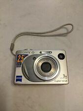 Sony Cyber-shot DSC-W1 5.1MP Digital Camera - Silver