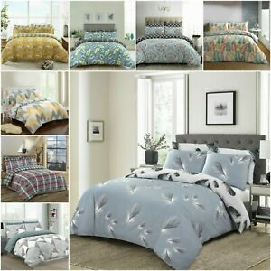 Luxury Print Bedding 100% Cotton 200 Thread Count Double King Size Bed Covers