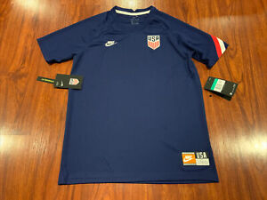 2019-20 Nike Youth Unisex United States Pre Match Soccer Jersey XL US USA USMNT