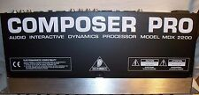 Behringer Composer Pro Audio Interactive Dynamics Processor MDX 2200