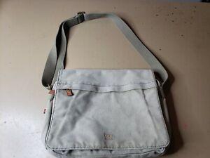 Troop London Canvas Messenger Crossbody Shoulder Bag England UK distressed