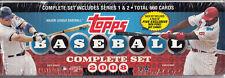2008 TOPPS BASEBALL SET(SERIES 1 & 2) 660 CARDS MFG SEALED + 5 DICK PEREZ CARDS