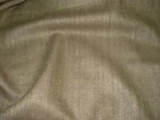 """~BTY~FABRICUT~WOOL SILK BLEND""""WEAVER"""" CHOCO~DRAPERY UPHOLSTERY FABRIC FOR LESS~"""