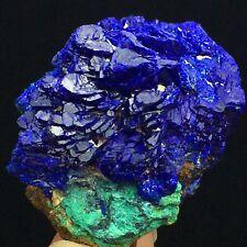44g Rare Natural Glittering Azurite Crystal Flowers Mineral Specimen/Yangchun