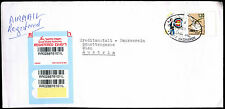 Israel 1999 Registered Commercial Cover To Austria #C39098