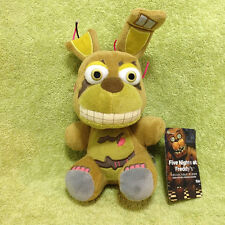 "Five Nights at Freddy's Nightmare Springtrap Plush 6"" Plushie Funko FNAF Q271"
