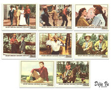 The Guns of the Timberlands Original Lobby Card Set of 8  -  1960 - VF