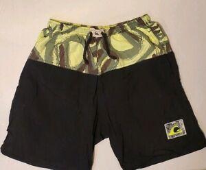 Quicksilver Mens Vintage Swim Trunks Shorts Size medium