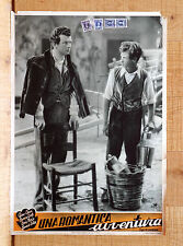 UNA ROMANTICA AVVENTURA fotobusta poster Cervi Girotti Noris Cortese K71