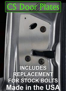 Jeep Grand Cherokee (ZJ) 93-98 DRIVER door latch repair & reinforcement plate