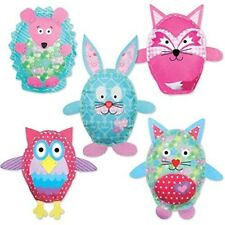 Childrens Sewing Kit Kids Craft Beginners Kits Embroidery Make Your Own Felt Set