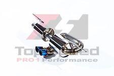 Lotus Elise Exige S2 05-11 TOP SPEED PRO-1 Full Titanium Catback Exhaust Systems