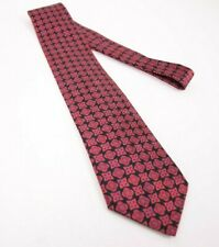 Stefano Ricci Luxury Collection Silk Neck Tie in Black/Red Design Made in Italy