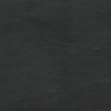 """Vinyl Black Matte Upholstery Renegade faux leather fabric per yard 55"""" wide"""