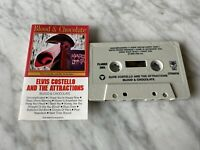 Elvis Costello And The Attractions Blood & Chocolate CASSETTE Tape 1986 Columbia