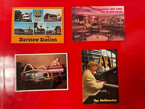 Vintage Lot of McDonald's Barstow Station Des Plaines Museum McMaestro Broadway