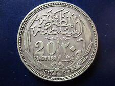 EGIPTO 20 PIASTRAS - 20 PIASTRAS 1917 AH 1335 MBC