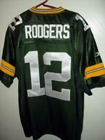 Green Bay Packers Jersey - AARON RODGERS #12 Quarterback - NFL Players sewn on
