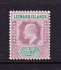 LEEWARD ISLANDS 1902  1/2d  KEVII  MLH  SG 20