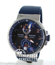 Ulysse Nardin Marine Chronometer Manufacture 43mm Blue In-House Movement