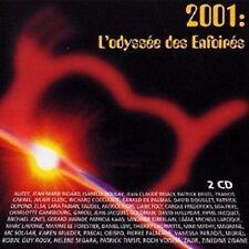 196 // 2001 L'ODYSSEE DES ENFOIRES DOUBLE CD EN BE JAQUETTE ABIME SUR 1 CM