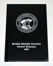 Moses Brown School 1987 Alumni Directory