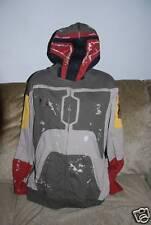 New Men's Star Wars Edition Marc Ecko Boba Fett Rare Hoody L Halloween Costume