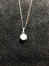 Small Pewter Pendant With 18 Inch Chain