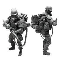 5 cm 1/35 Collection de modèles de soldats en résine de chars modernes