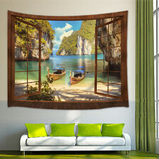 Tropical Bays Tapestry Wall Hanging for Living Room Bedroom Dorm Decor