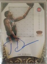2012-13 Panini Preferred #217 Joe Dumars SL JSY AU/49 OC (Pistons)
