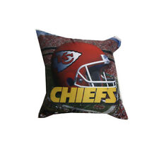 Nfl Kansas City Chiefs Photo Pillow Perfect Addition - Size: 18 X 18