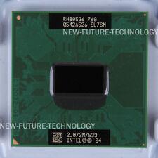SL7SM- Intel Pentium M 760 2 GHz 2 MB 533 MHz Socket 478/N CPU US free shipping
