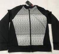 UNDER ARMOUR ColdGear Women's UA Full Zip Lightweight Jacket - Black -Small NWT