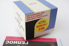 Helios 44-2  f/2/58mm Belomo Lens M42, 8 blades,New-old stock, kit in box