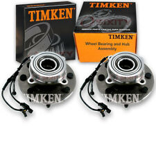 Timken Front Wheel Bearing & Hub Assembly for 2006-2008 Dodge Ram 3500 Pair ys