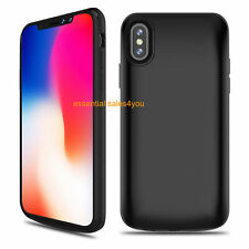 125% Extra Battery for Apple iPhone X Case 6000mAh Charger Rechargeable Portable