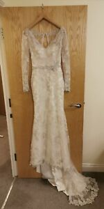Sottero and Midgley Haute Couture Wedding Dress Size 2 UK 8 Ivory Anastasia s