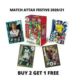 MATCH ATTAX 2020/21 FESTIVE EDITION  EXCLUSIVE CARDS, STAR, LEGEND, MOTM....