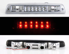 Dodge Ram 1500 2500 3500 94-01 Rear 3rd LED Brake Light Chrome Clear