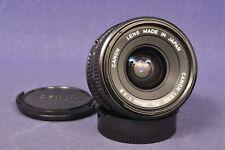 Canon 2,8 x 28mm FD Weitwinkel Objektiv / Wide Screen Lens