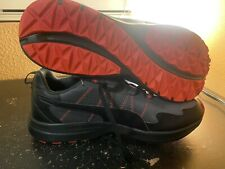 Puma Escalate Trail Outdoor Running Shoes Sneakers Men's Size 10.5 Black Red New